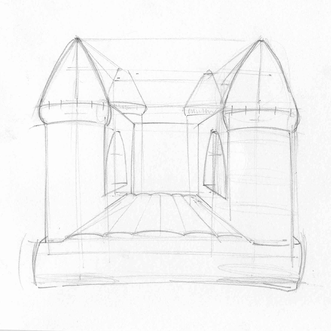 Sketch-Bounce-House